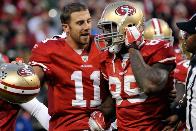 "Vernon Davis Says Alex Smith Is ""Still the Man"""