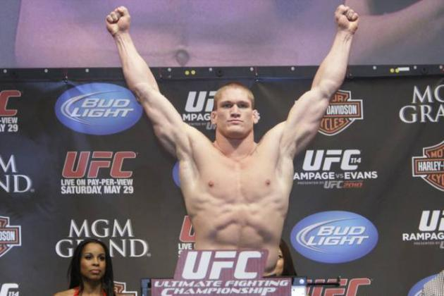 Todd Duffee Returns to the Octagon at Las Vegas' UFC 155