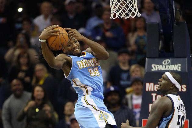 Denver Nuggets, Led by Kenneth Faried, Top NBA in Offensive Rebounds