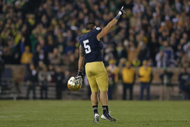 Notre Dame Football: How Manti Te'o Can Take over the Heisman Race This Week
