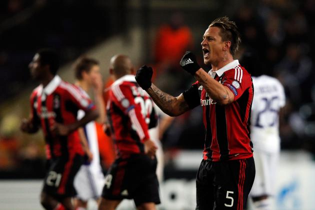 Mexes Wonder Goal Sends AC Milan into UEFA Champions League Last 16