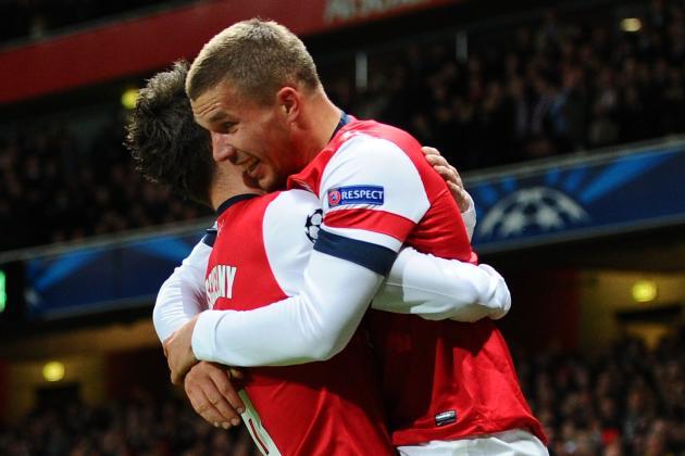 Arsenal 2-0 Montpellier: Arsenal in Last 16