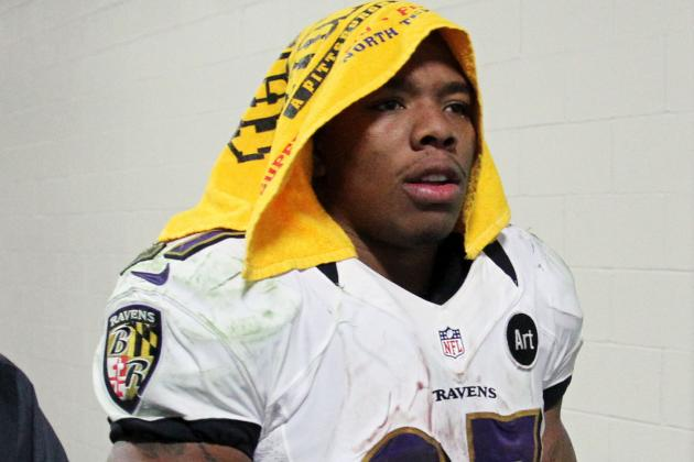 Ray Rice Said He Wasn't Being Disrespectful to Steelers' Terrible Towel