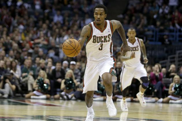 Brandon Jennings' NSFW Photo With Stripper, Bag Of Cash [PHOTO]