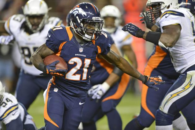 2012 NFL Fantasy Football Week 12: Flex Play Rankings/Projections