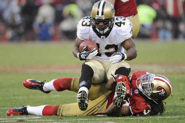 Darren Sproles: Saints RB's Fantasy Football Outlook vs. San Francisco 49ers