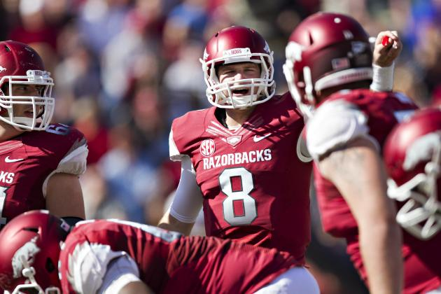 Arkansas Offense Eager for Final Challenge