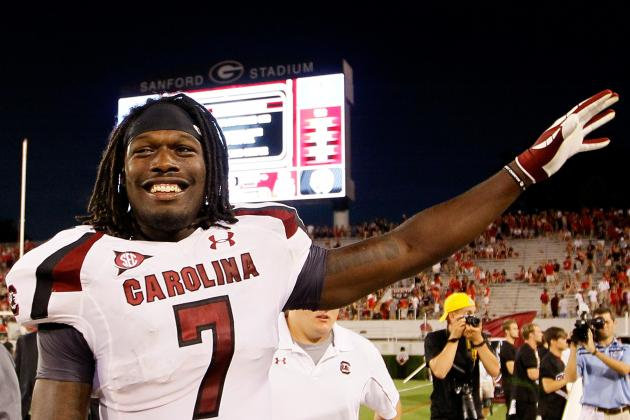 Clowney Says He's '100 Percent' Ready for Saturday