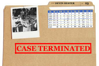 Devin Hester: Why the Experiment Should Be Officially Ended