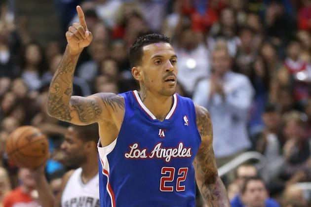 Matt Barnes Will Start Tonight vs. Thunder