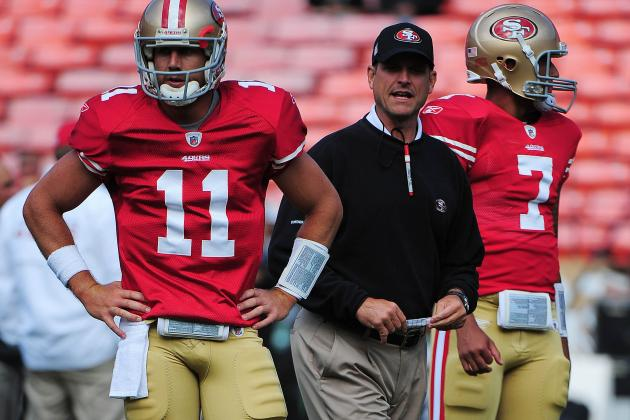 Harbaugh: 49ers Could Rotate Smith, Kaepernick