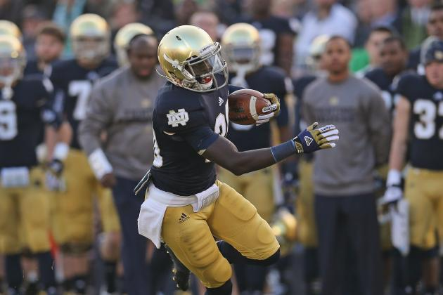 Mother Says Notre Dame's Wood '70-30' Lean to NFL
