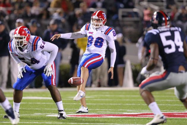 Louisiana Tech P Ryan Allen Wins 2012 Ray Guy Award