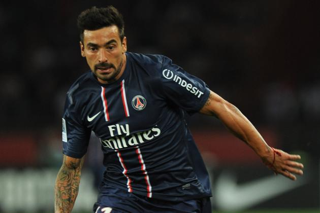 Lavezzi Finds the Range as PSG Advances in Champions League