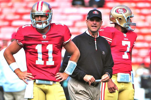 49ers Reportedly Will Start Colin Kaepernick Over Alex Smith Sunday vs. Saints