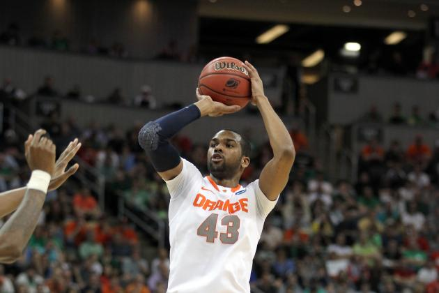 James Southerland Continues Syracuse's Sixth Man Tradition