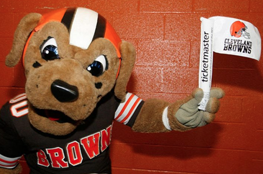 Browns Give Fans White Flags