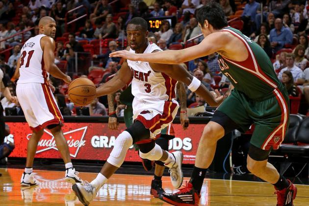 Dwyane Wade Wins NBA Player of the Night with Monstrous Return vs. Bucks