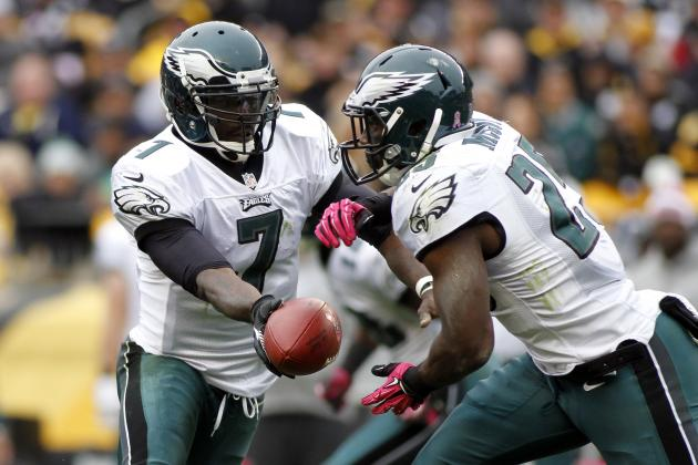 Michael Vick, LeSean McCoy Unlikely to Play for Eagles Monday