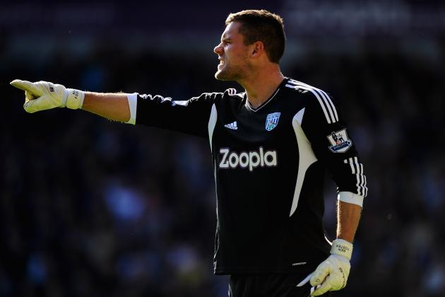 West Brom Goalkeeper Ben Foster Is Facing an Extended Spell on the Sidelines