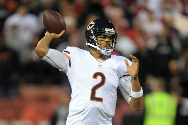 Jay Cutler: Fantasy Alternatives to Consider If Chicago Bears QB Misses Week 12