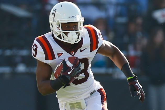Va Tech WR Asante out Saturday vs. UVa