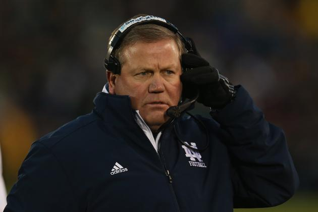 Notre Dame Football: Brian Kelly Is Running Away with Coach of the Year Honors