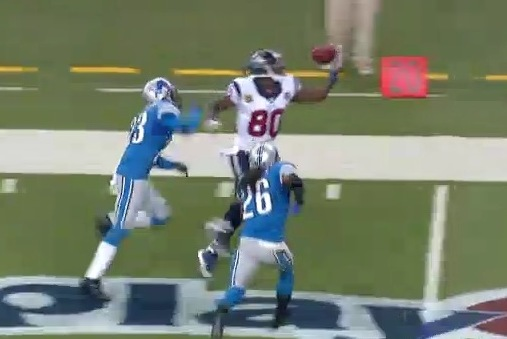 Johnson Makes Juggling Grab