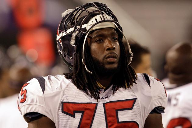 OT Derek Newton Will Not Return vs. Lions