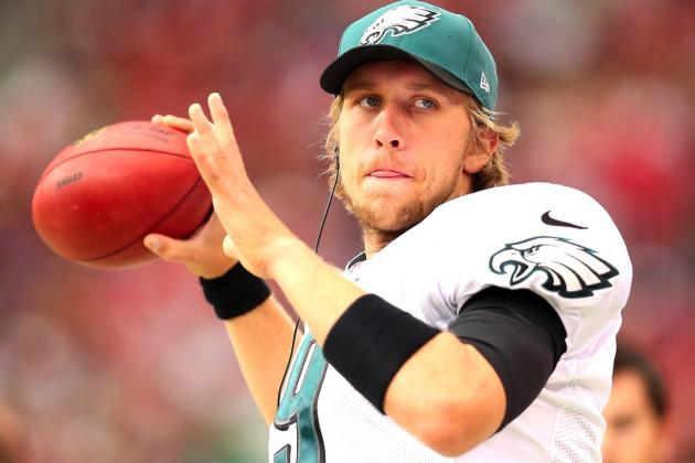 Nick Foles Reportedly Named Eagles Starter as Michael Vick Continues Recovery