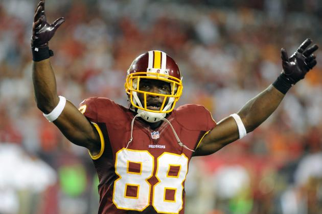 Pierre Garcon and London Fletcher Active vs. Cowboys