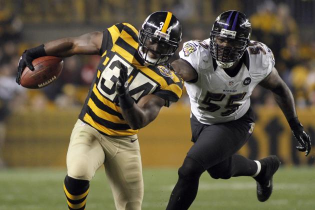 Rashard Mendenhall: Timing Couldn't Be Better for Steelers RB's Return to Lineup