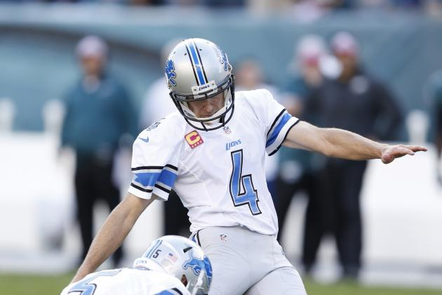 Jason Hanson Takes Blame for Lions' Overtime Loss to Texans