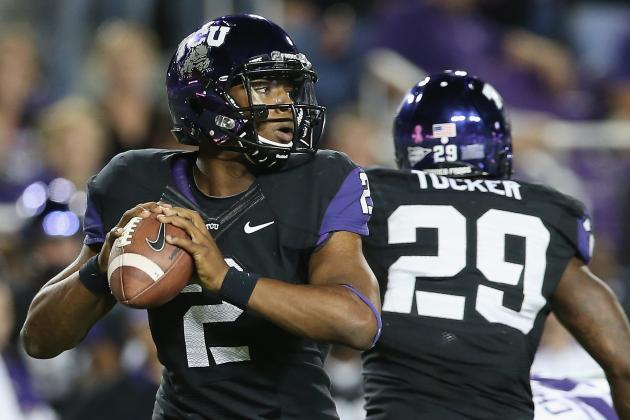 ESPN Gamecast: TCU vs Texas