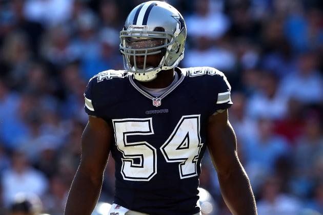 Bruce Carter out for Game with Elbow Injury