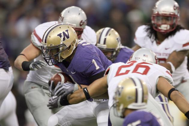 Washington vs. Washington State: Top Storylines for Big Pac-12 Rivalry Game
