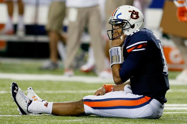 Auburn Football: Tigers Have No Chance at Huge Iron Bowl Upset