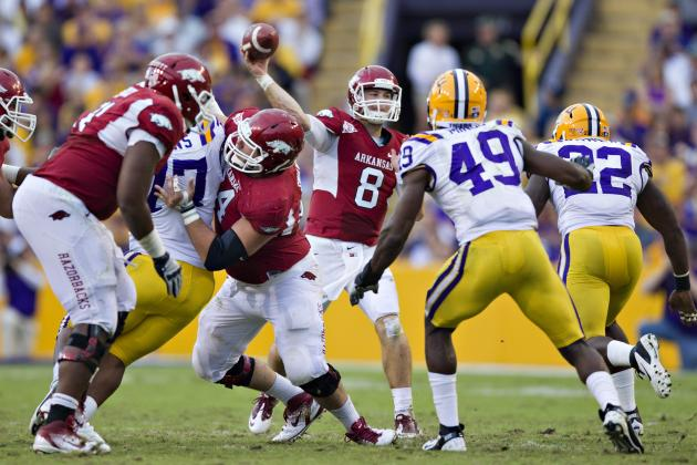 LSU vs. Arkansas: 5 Ways LSU's D Will Put the Boot to Tyler Wilson