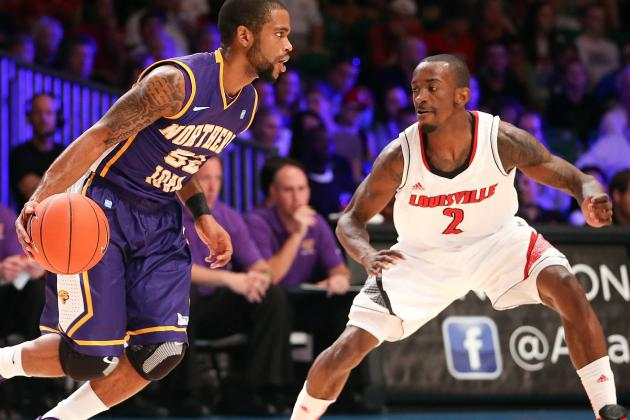 Louisville Overcomes Poor Shooting to Beat UNI