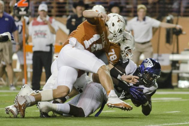 TCU vs. Texas: QB Struggles Doomed Longhorns' BCS Hopes in Thanksgiving Loss
