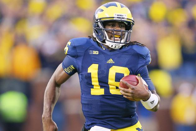 Michigan Football: Wolverines Must Start Denard Robinson vs. Ohio State