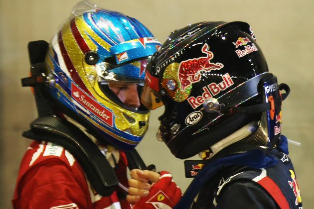 Formula 1 Championship: Alonso Relaxed While Vettel Battles Mind Games