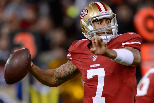 Colin Kaepernick Given San Francisco 49ers' First-Team Reps