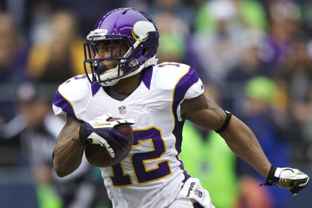 Percy Harvin (ankle) to Be out for Minnesota Vikings?