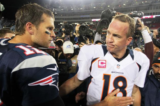 Tom Brady and Peyton Manning: Could MVP Come Down to Old Foes?