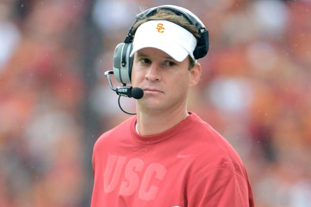 Lane Kiffin Has Support of Chip Kelly Heading into Game Against Notre Dame