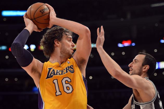 Lakers Question Pau Gasol's Conditioning