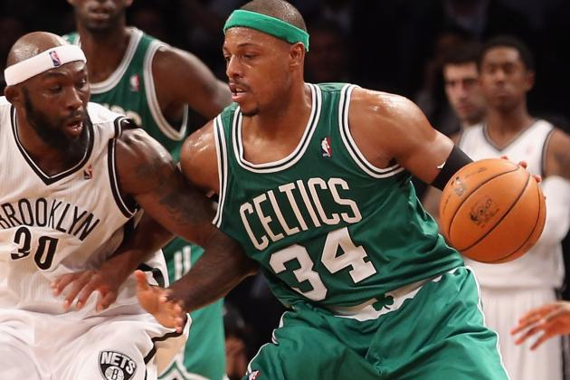 Paul Pierce Thinks the Celtics Need to Get Back to 'Grinding It Out'
