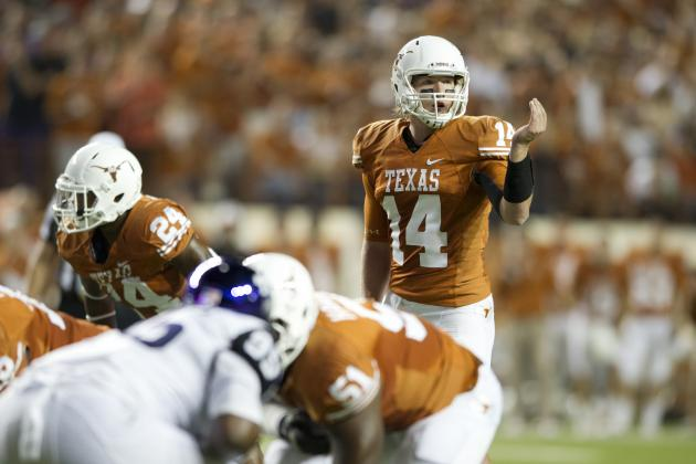 Turnovers Leave Texas in Early Hole vs. TCU