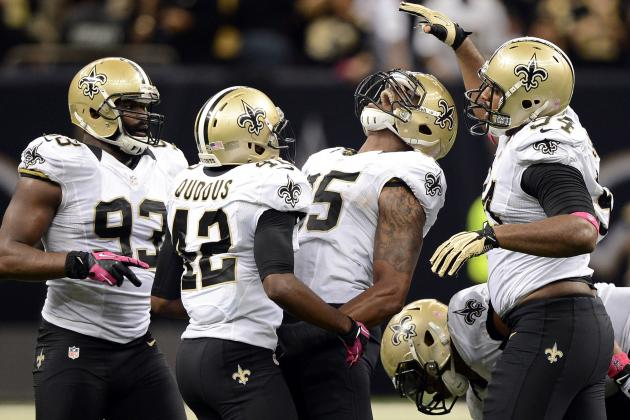Saints' 32nd-Ranked Run Defense Turns Dominant Inside the Red Zone